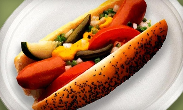 Cozzi Corner Hot Dogs - Downers Grove: Hot Dogs and Drinks or Catering at Cozzi Corner Hot Dogs & Beef in Downers Grove