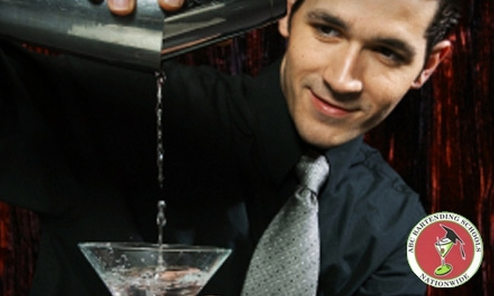 ABC Bartending - Multiple Locations: $69 for a Four-Hour Mixology Class ($150 Value) or $199 for 40 Hours of Bartending Classes ($595 Value) at ABC Bartending School
