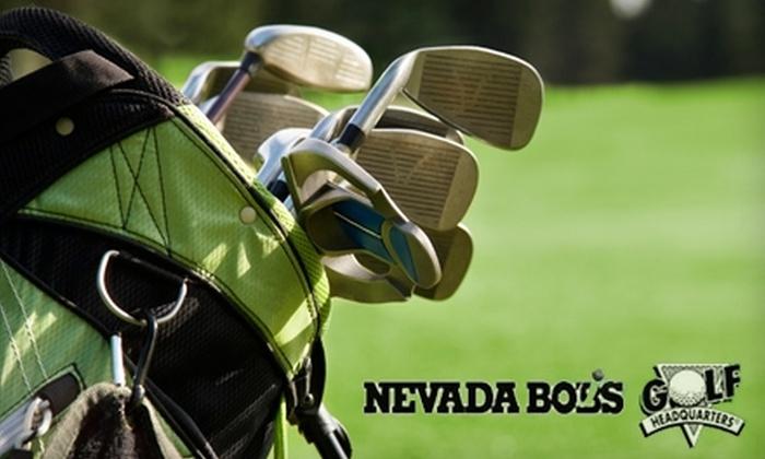 Nevada Bob's Golf Headquarters of Laguna Hills - Laguna Hills: $15 for $30 Worth of Golf Equipment and Apparel, Plus a Club Fitting at Nevada Bob's Golf Headquarters of Laguna Hills