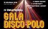 Bilet na IV Świąteczną Galę Disco Polo w Hali Arena w Toruniu