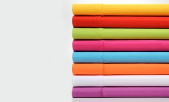 Premier Colorful Brights Brushed Microfiber Sheet Set