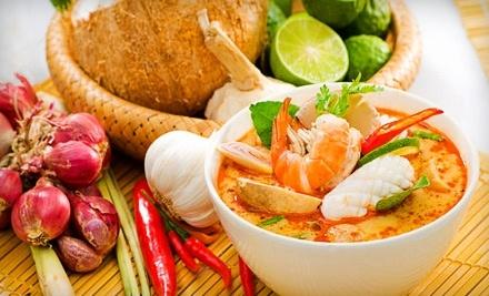 $16 Groupon to Bangkok Place Thai Restaurant - Bangkok Place Thai Restaurant in Elkhart