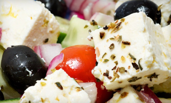The Feisty Greek - Norwood Centre: Combo Meals for Two or $15 for $30 Worth of Casual Greek Fare at The Feisty Greek in Norwood