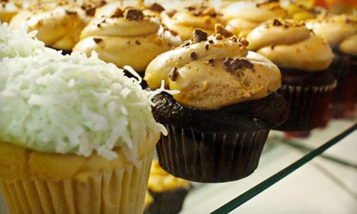 Dozen Bake Shop - Multiple Locations: Two Brunch Entrees or a Dozen Cupcakes at Dozen Bake Shop (Up to 52% Off)
