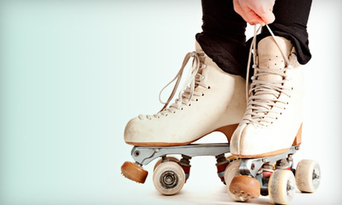 River Roll Skate Center - Northland: Roller-Skating Outing with Pizza and Soda for Two or Four at River Roll Skate Center in Riverside (Half Off)