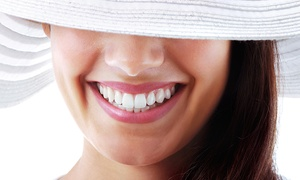 Omega Laser: LED Teeth Whitening for One or Two at Omega Laser (Up to 82% Off), 8 Locations Available