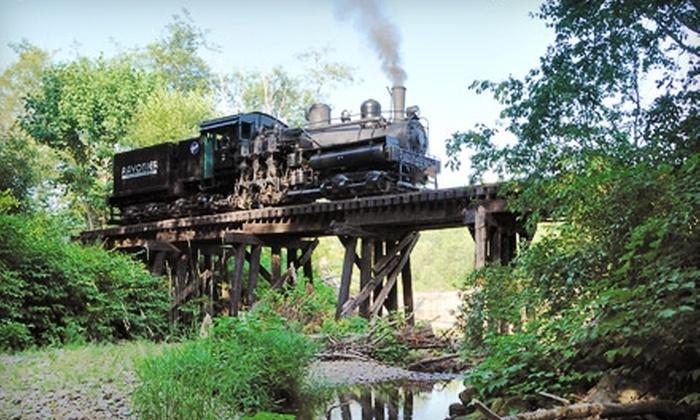 Mt. Rainier Scenic Railroad - Elbe: $11 for One Ticket to a Steam-Train Excursion on the Mt. Rainier Scenic Railroad in Elbe, WA (Up to $23 Value)