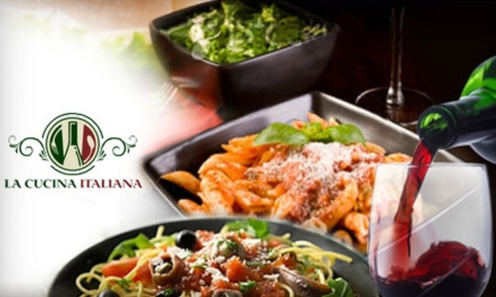 La Cucina Italiana - South Mountain: $10 for $25 Worth of Italian Fare and Drinks at La Cucina Italiana