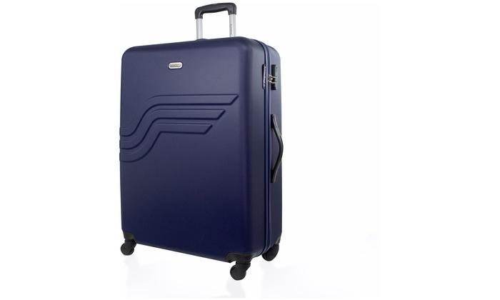 valises abs american travel groupon shopping. Black Bedroom Furniture Sets. Home Design Ideas