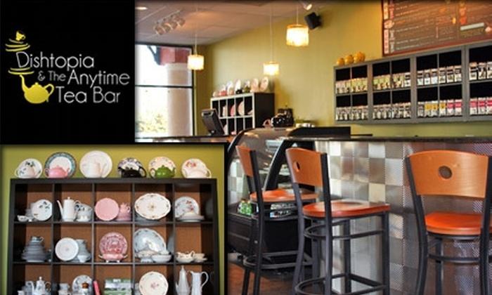 Dishtopia - Grey Gables/Bon Air: $5 for $10 Worth of Tea and Snacks at Dishtopia & The Anytime Tea Bar