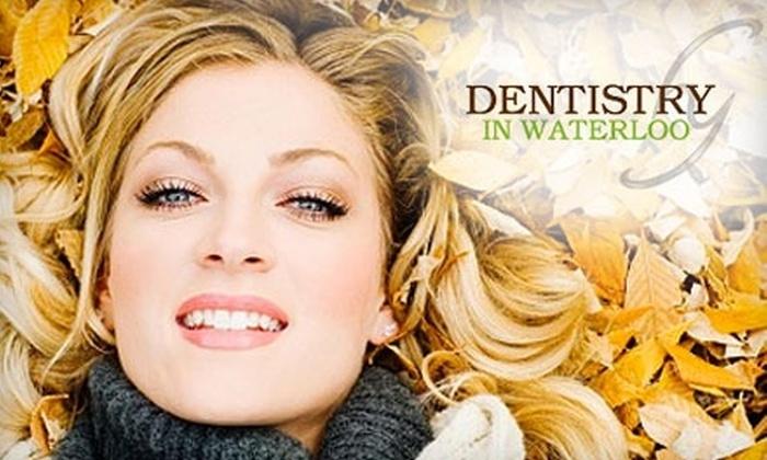 Dentistry in Waterloo - Waterloo: $149 for Zoom! Teeth Whitening at Dentistry in Waterloo ($499 Value)