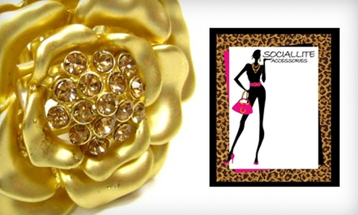 Sociallite Accessories - East Harlem: $15 for $30 Worth of Handbags, Jewelry, and Accessories at Sociallite Accessories