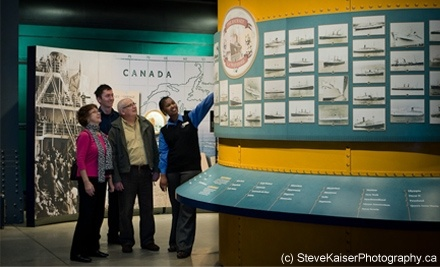 Canadian Museum of Immigration at Pier 21: One Adult Admission - Canadian Museum of Immigration at Pier 21 in Halifax