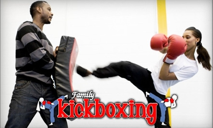 Family Kickboxing - Sudbury: $35 for a One Month Membership ($77.99 Value) or $95 for a Three Month Membership ($215 value) at Family Kickboxing