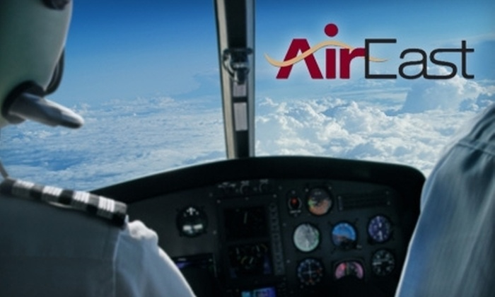 Air East Airways - East Farmingdale: $199 for One-Hour First Flight Experience Package at Air East Flight School