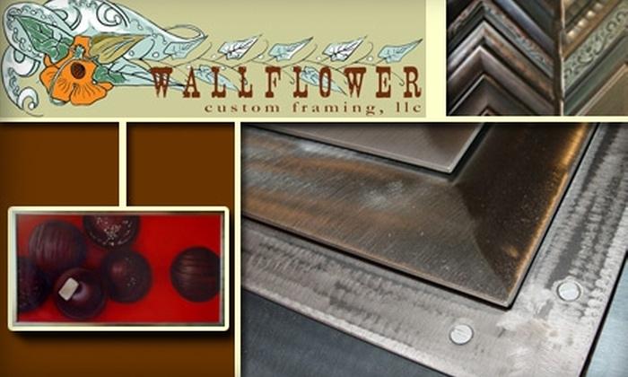 Wallflower Custom Framing - Junction: $40 for $100 Worth of Services at Wallflower Custom Framing