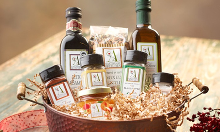 The Artisanal Kitchen: $99 for a Gift Box with Artisanal Olive Oils, Jams, and Spices from The Artisanal Kitchen ($260 Value)