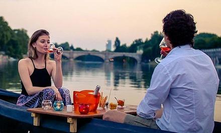 Promozione Esperienze Groupon.it Apericena Gourmet con prodotti artigianali a bordo di una barca lungo il Po con InBarcaTO (sconto fino a 43%)