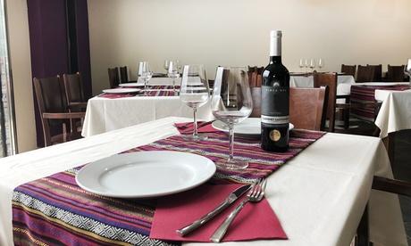 Menú para 2 o 4 con degustación entrantes, principal, postre y botella de vino desde 24,90 € en Belle Époque