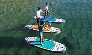 Kayak Aventur: Alquiler de paddle surf para 1 o 2 personas durante 2 horas desde 16,95 € Kayak Aventur