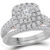 1 CTTW Diamond Wedding Engagement Ring Set in 14K Gold by Sonneta