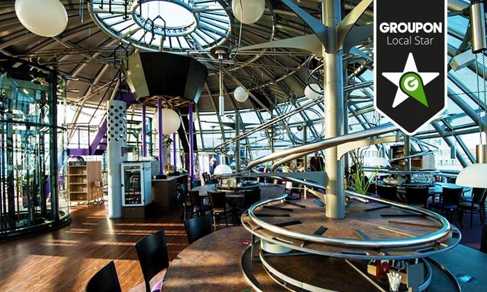 Wertgutschein über 15 Anrechenbar Auf Alle Speisen Und Getränke Im Rollercoaster Restaurant Dresden