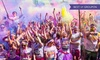 The Color Run™ - Multiple Locations: The Color Run™, 11 June–23 September in London, Manchester or Brighton (Up to 18% Off)