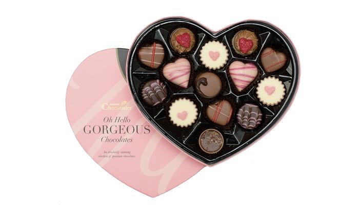 209g Valentine S Chocolate Box Groupon
