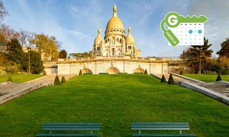 Paris: Habitación doble estándar para dos personas con desayuno y crucero por el Sena en el Pavillon Villiers Etoile