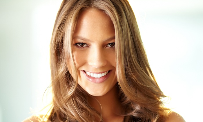 J and J Hair at at London Hair and Spa - Corey Ave: Haircut with Optional Highlights or Root Touch-Up at J and J Hair at at London Hair and Spa (Up to 55% Off)