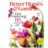 1-Year Subscription to Better Homes & Gardens (12 Issues)