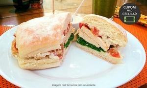 Pitanga Sabor e Equilíbrio: Pitanga Sabor e Equilíbrio – Setor Central: sanduíche + suco para 1, 2 ou 4 pessoas
