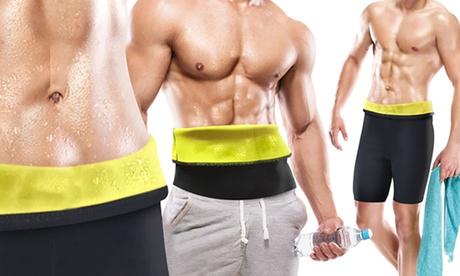 Cinturón y pantalones cortos sauna para hombres Saunactif