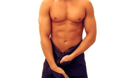 1, 3 o 6 sesiones de depilación con láser para hombre en pecho, abdomen y/o espalda y hombros desde 18 € en Depil & You Oferta en Groupon