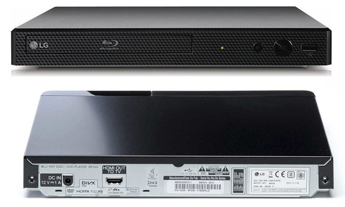 LG Wi-Fi Blu-Ray and DVD Player | Groupon