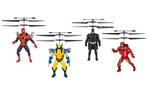 Marvel or DC Flying Figures