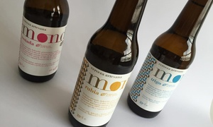 CERVEZAS MOND: Visita guiada a la fábrica de cervezas con cata y maridaje para 2, 4, 6 u 8 personas desde 9,95€ en Cervezas Mond