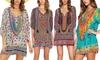 Groupon Goods Global GmbH: 1 ou 2 robes Kaftan Boho Chic en 4 modèles