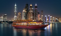 4* Iftar Buffet Dhow Cruise for One or Two with Al Wasl Dhow at Dubai Marina (65% Off)