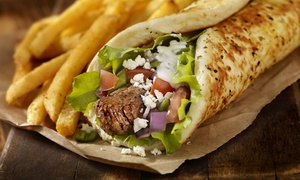 Istanbul Kebab: 2 kebabs frites et 2 desserts dès 12,90 € au restaurant Istanbul Kebab