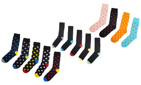 Five Pairs of Brave Soul Men's Socks