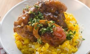 Porca Polenta: Menu con tris di risotti, salumi, formaggi e vino per 2 o 4 persone da Porca Polenta (sconto fino a 68%)