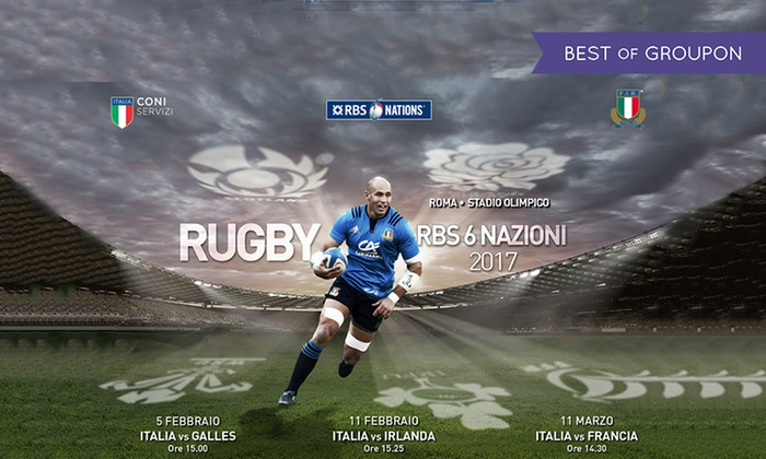 """Rugby 6 Nazioni 2017  - Box """"Ritiro Prepagati FIR"""": RBS 6 Nazioni 2017 - Vieni a sostenere l'ItalRugby nelle 3 partite casalinghe all'Olimpico: 5 e 11 febbraio, 11 marzo"""