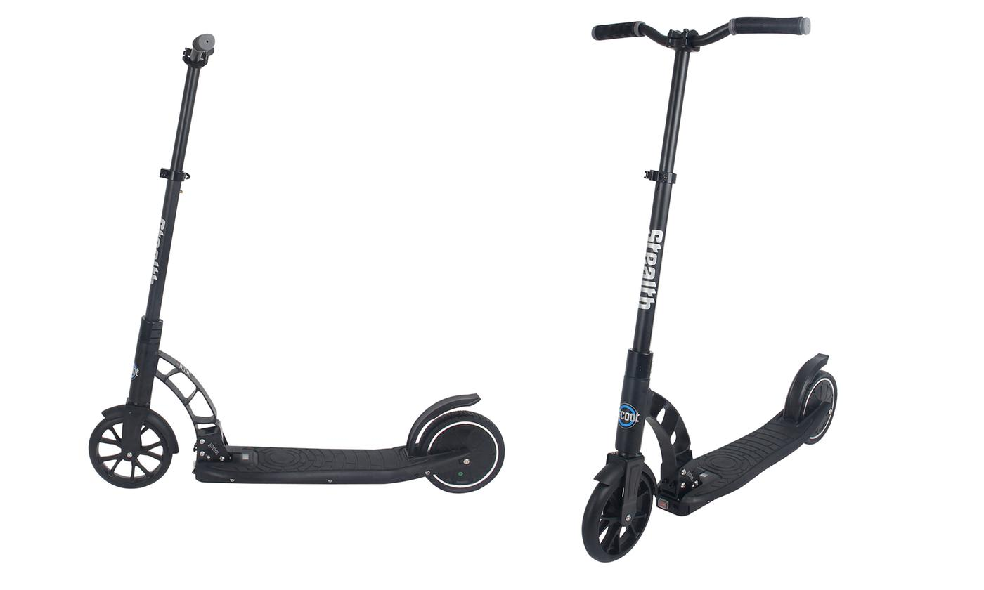 iScoot Stealth Adult Electric Scooter with Gravity Sensor With Free Delivery