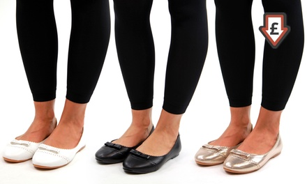 Women's Bow Ballet Loafers