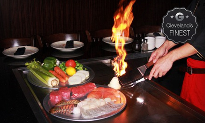 Samurai Sushi and Hibachi - Strongsville: $12 for $25 Worth of Japanese Food for Dinner at Samurai Sushi and Hibachi