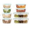 Oven-Safe Glass Food Storage Sets (24- or 32-Piece)