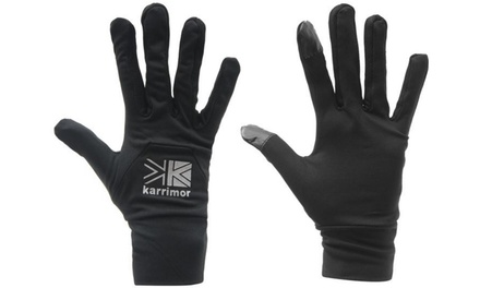 Men's and Women's Karrimor Touchscreen Sports Gloves for £4.99