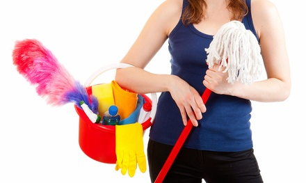 One or Three Housecleaning Sessions with Up to Three Hours of Service Per Session from Professional Touch (Up to 53% Off)
