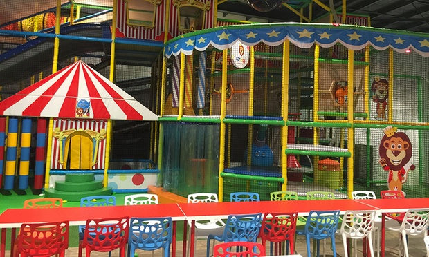 All Day Indoor Play Centre Entry   One ($8) or Two Children ($15) at Carnival Kingdom (Up to $33 Value)